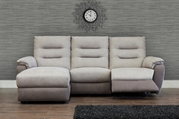 Quartz Fabric Corner Sofa 1