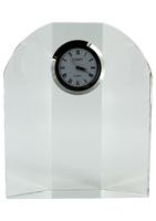 12cm Leitrim Crystal Clock (Satin Box)