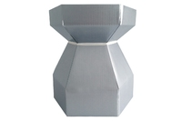 CUPCAKE BOUQUET BX/CUPS SILVER