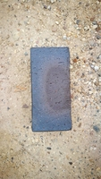 BLUE ENGINEERING BRICK SOLID