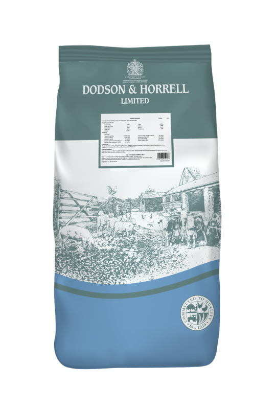 Dodson & Horrell Ostrich Grower 20kg