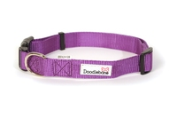 Doodlebone Adjustable Bold Collar Large - Purple x 1