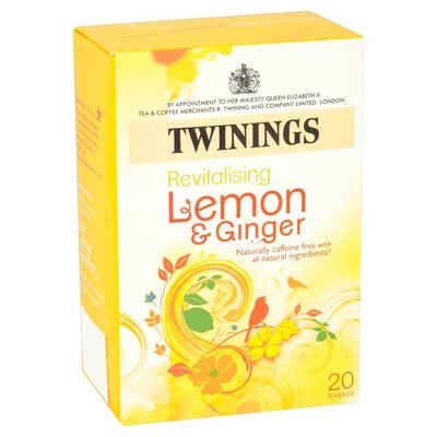 Twinings Lemon and Ginger Tea