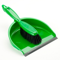 Hand Dust Pan Set, Green