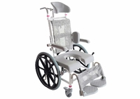 Childrens Self Propelled Height Adjustable Shower/Commode Chair