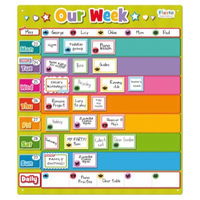 Our week magnetic family planner