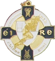 34mm Gaelic Medal (Gold / Navy)
