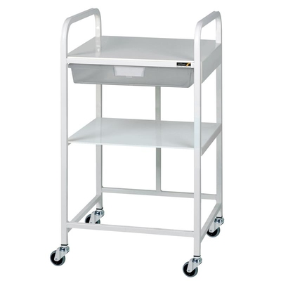 Surgery Trolley with Tray & Shelf