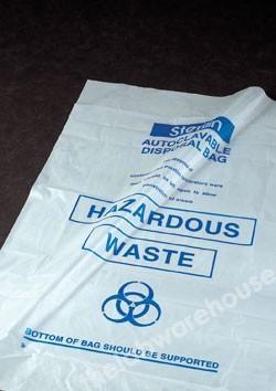 Disposal Bags  406X610mm, Non Sterile Pp, Pk