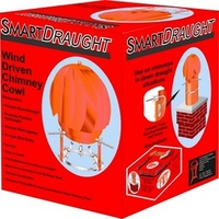 SMARTDRAUGHT WIND DRIVEN CHIMNEY COWL