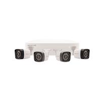 4CH HD 500GB 4 Bullet Camera Kit White