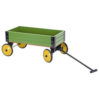 Children's Green Pull-along Cart