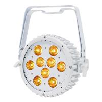 LEDJ Intense 9P10 RGBWA LED Slim Par White Housing
