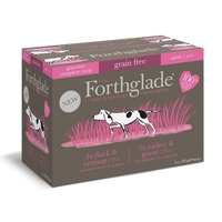 Forthglade Gourmet Dog Variety Multicase 395g x 6