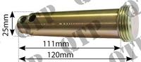 Broche de bras supérieur 25mm