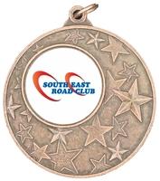 50mm Bronze Star Iron Medal