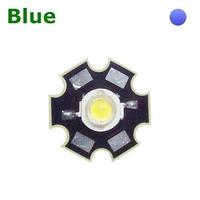 TKL-HP1B | POWER LED 1 WATT BLUE - WITH DISSIPATOR