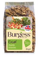 Burgess Excel Apple Snacks 80g x 7