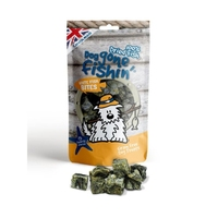 Dog Gone Fishin' White Fish Bites 75g x 6
