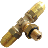 16mm T Piece Coupling Stud M16 x 1.5