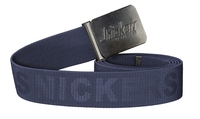 Snickers 9025 39mm Navy Belt Elastic  Buckle