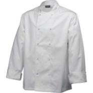 Basic Stud Jacket White Long Sleeve - Medium 101.5-106.5cm
