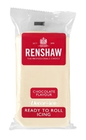 RENSHAW READY TO ROLL ICING  WHITE CHOCOLATE FLAVOUR (1 x 250g)