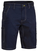 Bisley Men's Lightweight Cotton Cargo Shorts 190gsm