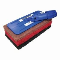 Glitterbug Upright Scrub Pad Holder Blue