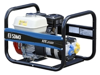 The SDMO HX2500 solid, high performance 2kW Petrol Generator with Honda GX160 OHV, 163cc engine with Mecc Alte alternator and 3L fuel tank capacity