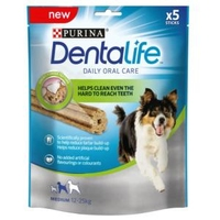 Purina Dentalife Oral Care Sticks Medium 5-Stick x 5