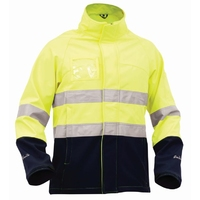 Bison Stamina Hi Vis Day/Night Softshell Jacket