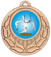 45mm Bronze Zamac Wreath Medal