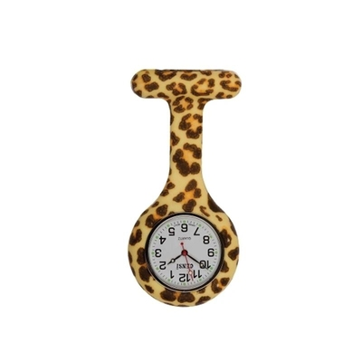 Fob Watch Leopard Print