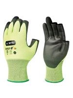 SKYTEC DIGIT 5 GLOVES 3 EXPOSED FINGERTIPS CUT LEVEL 5 SIZE 8