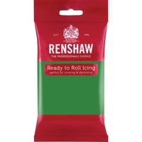 RENSHAW READY TO ROLL ICING LINCOLN GREEN (2 x 2.5 Kgs)