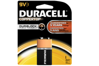 Batteries Duracell PP3 Type MN1604 9V Pkt1