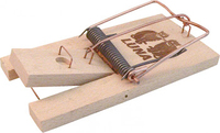 LUNA WOODEN RAT TRAP