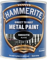 5158235 HM METAL PAINT SMOOTH BLACK 750ML 33% EXTRA
