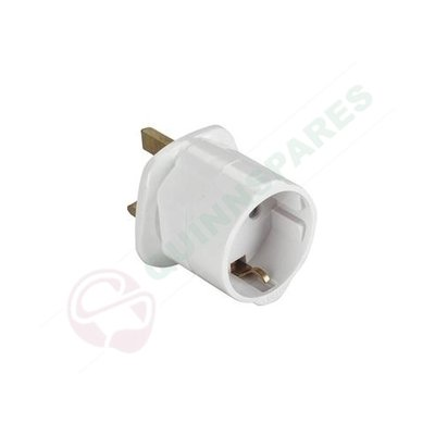 Travel Adaptor Visitor Eu To Uk/Ire