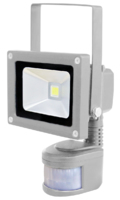 SKYLINE LED PIR FLOODLIGHT  240V 10WATT WARM WHITE 2700K IP65