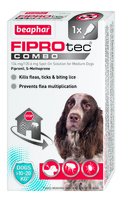 Beaphar FIPROtec COMBO Medium Dog Spot On 1 Tube x 1
