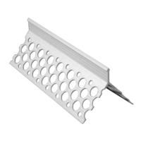 PLASTIC ANGLE BEAD 2.5mtr (CB10) 1 COAT  (10mm)