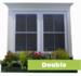 Double Window Decal