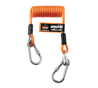 ERGODYNE SQUIDS 3130M Coiled Cable Tool Lanyard