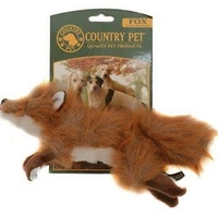 Country Pet Dog Toy - Fox Large x 1