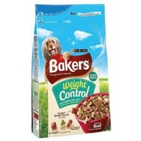 Bakers Complete Weight Control Beef & Country Veg 2.7kg