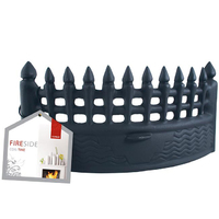 18'' Castle Fire Front Black
