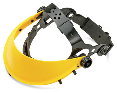 Adjustable Headgear with Soft Nylon Padded Browguard and Ratchet