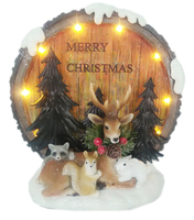 Garland Reindeer and Animals with LED Lights